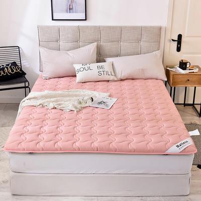 2019新款 水洗棉加厚防滑床垫 0.9*2.0 玉粉