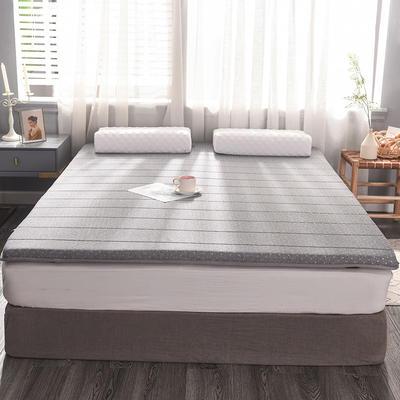 2019新款提花針織乳膠床墊 90*200cm 6cm 灰點