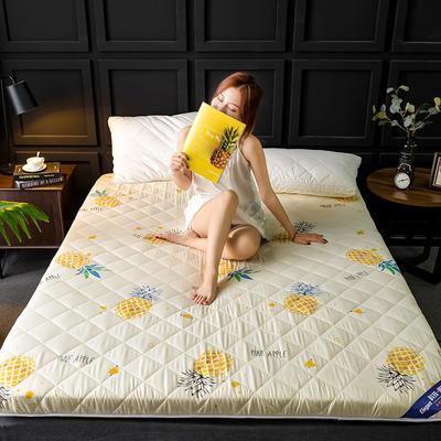 2020新款磨毛加厚防滑床墊 0.9m 菠蘿
