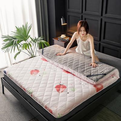 2020新款磨毛加厚防滑床垫 1.2m 草莓