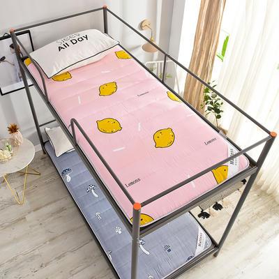 2020新款磨毛印花学生床垫-5cm 0.9*2.0m 鲜柠檬