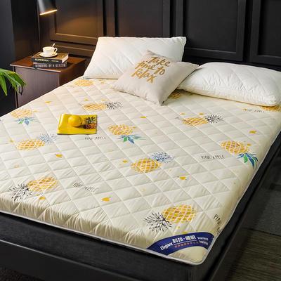 2020新款磨毛加厚防滑床垫 1.2m 菠萝