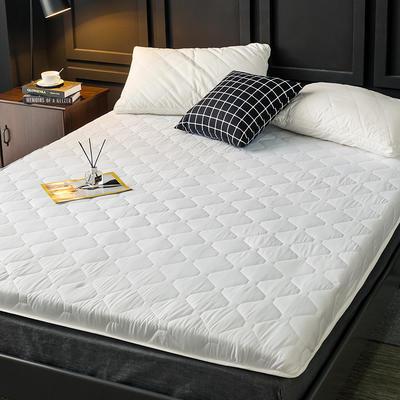 2020新款磨毛加厚防滑床垫 0.9m 白