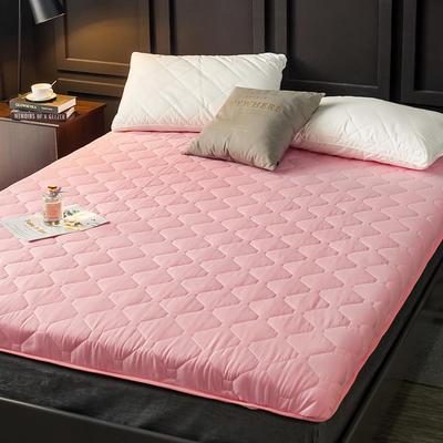 2020新款磨毛加厚防滑床垫 0.9m 粉
