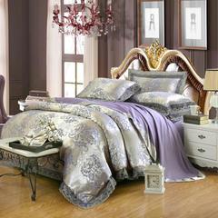 莫代尔提花套件 标准(适用1.5 1.8床) 锦绣前程-兰金