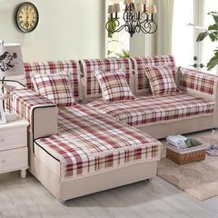 沙发坐垫新棉麻沙发垫 45*45(椅垫) 12英国风情