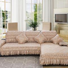 沙发坐垫欧式风情新沙发垫 42*45大花边椅垫 金色