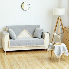 棉麻沙发垫 45*45cm(椅垫) 素雅-灰