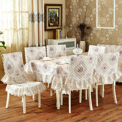 沙发垫桌布桌椅套椅垫 欧式桌布03 45*45椅垫 若梦-米
