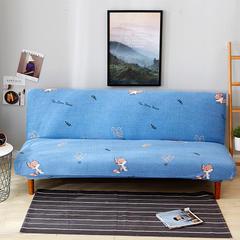 2018新款 沙发床套 奔跑的狐狸 单人位90-140