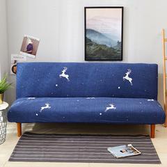 2018新款 沙发床套 鹿与星星 双人位145-185