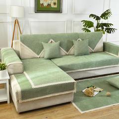 共鸣沙发垫 雪尼尔沙发垫 可定制 70*70cm 梦想绿