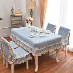 共鸣沙发垫  水洗棉素色餐桌椅垫 45*45cm椅子垫 水洗棉蓝灰