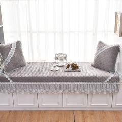 共鸣沙发垫 短毛绒系列飘窗垫 70*160cm 短毛绒灰色