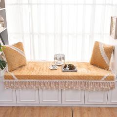共鸣沙发垫 短毛绒系列飘窗垫 70*180cm 短毛绒驼色