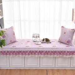 共鸣沙发垫  若梦系列亚麻印花飘窗垫 可定制 70*160cm 若梦米