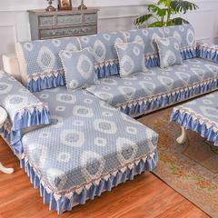 共鸣沙发垫 锦绣提花沙发垫 可定制 45*45cm椅垫 锦绣蓝