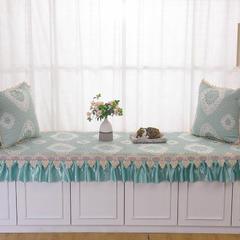 共鸣沙发垫 锦绣系列飘窗垫 可定制 45*45cm抱枕套 锦绣蓝