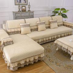 共鸣沙发垫 冬季爆款水晶绒沙发垫 45*45cm椅垫 水晶绒米黄