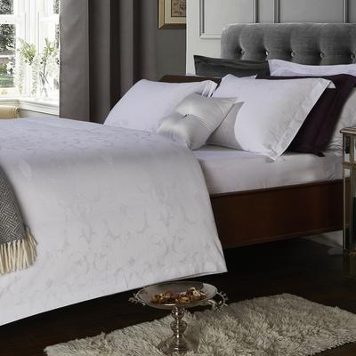 艺麦酒店家居    60提花系列四件套提花四件套酒店四件套宾馆四件套 标准1.5-1.8m 水莲