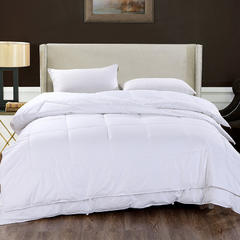 艺麦酒店家居    白色被芯酒店被芯全棉被芯五星级酒店子母被 150x200cm(非子母被) 子母被