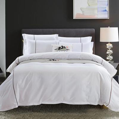 艺麦酒店家居      60提花系列套件 小号1.2m床 咖啡牙条