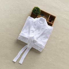 艺麦酒店家居   威斯丁浴袍酒店白色浴袍酒店浴袍纯色浴袍 L 条纹割绒浴袍