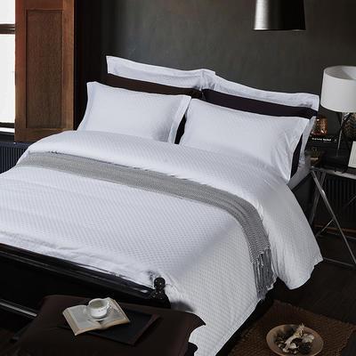 艺麦酒店家居    60提花系列四件套提花四件套酒店四件套宾馆四件套 标准1.5-1.8m 天使之星