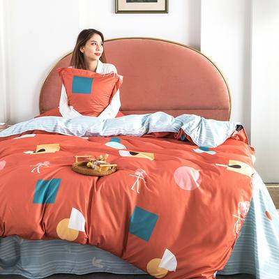 2020新款芦荟棉四件套 1.0m床单款三件套 西西里