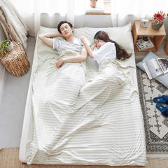2018新款针织睡袋 针织睡袋 绿米(80*210cm)