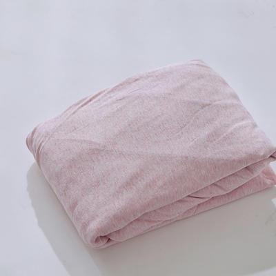 2019新款针织单床笠 120*200 粉灰