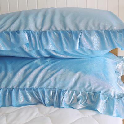 来自银河系的blingbling枕套 靠垫含芯45CMX45CM/一个 天蓝