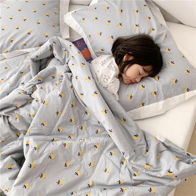 【夏被】全棉小清新 枕套/对 枇杷