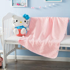 多米兔婴童用品毯子系列  婴儿提花毯 90*120CM   粉