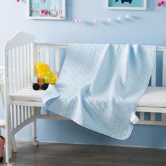多米兔婴童用品毯子系列  婴儿提花毯 90*120CM   蓝