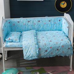 儿童套件类婴儿七件套 被子80*110枕头23*36床垫6 多彩小熊