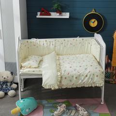 儿童套件类婴儿七件套 被子80*110枕头23*36床垫6 可可甜心
