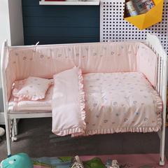 儿童套件类婴儿七件套 被子80*110枕头23*36床垫6 甜蜜童年
