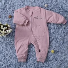 婴幼儿连体衣 50*80 mini连体衣 粉