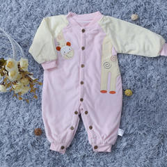婴幼儿连体衣 50*80 小鹿连体衣 粉