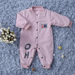 婴幼儿连体衣 50*80 星星连体衣 粉