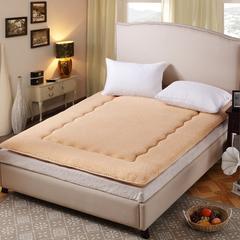 【垫之坊床垫】热销爆款超级特价尺寸颜色全 羊羔绒床垫床褥 90*200cm 驼色