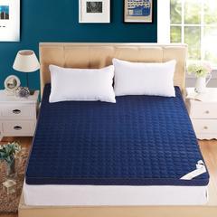 【垫之坊】6.5cm高密度海绵记忆棉床垫 不变形高回弹 90*200cm 蓝色