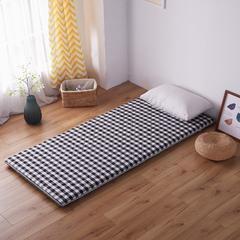 【垫之坊】色织水洗环保床垫学生开学季宿舍单人床褥子0.9 0.9*2.0米 灰色