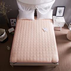 【垫之坊床垫供货】全棉抗菌纤维床垫加厚床褥单人双人 1.8米*2.0米 玉色