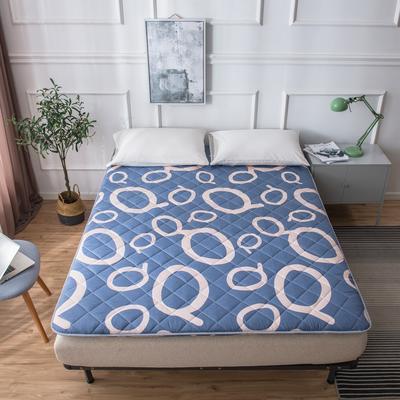 【垫之坊床垫】5cm加厚絎绣款磨毛印花春夏床垫四季加厚垫被 90*200cm 奇思妙想