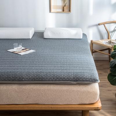2019年新款乳胶床垫记忆高回弹床垫防塌陷垫加厚地垫6cm10cm 180X200CM 9CM咖色羽毛