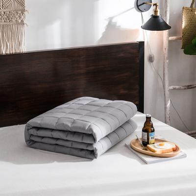 【垫之坊新品】纯色 方格多针絎绣床护垫加厚席梦思保护垫床褥子 0.9*2.0米 灰色