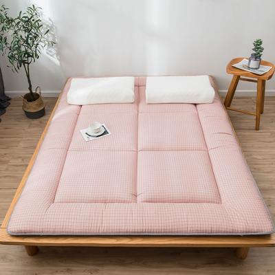 爆款推荐 北欧良品风格 简约家居 床垫床褥子学生单人双人 0.9*2.0学生 小粉格