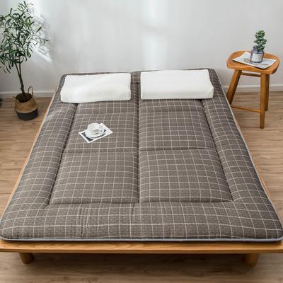 爆款推荐 北欧良品风格 简约家居 床垫床褥子学生单人双人 0.9*2.0学生 小咖格